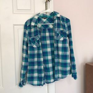 Express plaid flannel